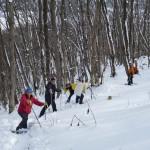 冬のアクティビティ<スノーハイキング>